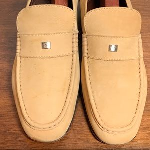 GIANNI VERSACE Leather Medusa Loafers Mens  9  42